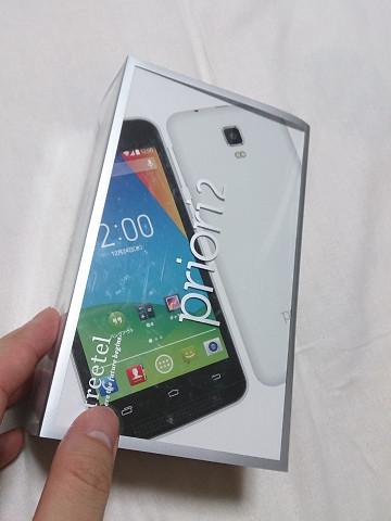 freetel SIMフリースマートフォン priori2 3G ( Android 45inch FWVGA  標準SIM  microSIM  デュアルSIMスロット  1GB  8GB