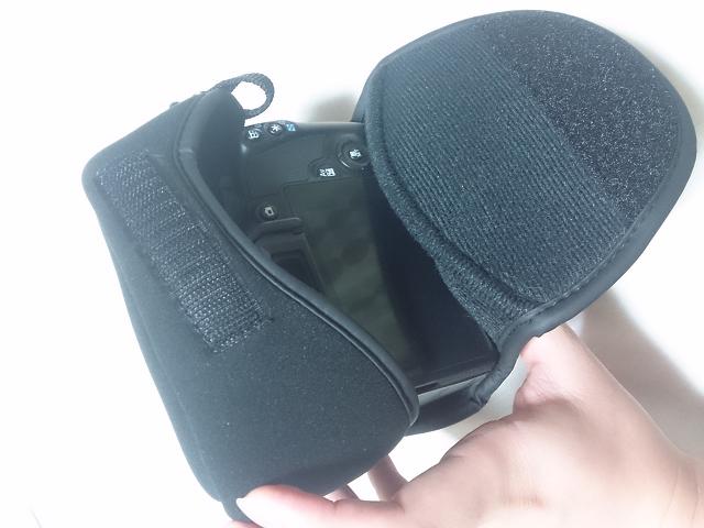 HAKUBA 一眼カメラケース ピクスギア カメラジャケット SM ブラック DCS-01SMBK-2