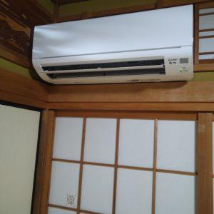 最強のエアコン三菱電機の霧ヶ峰の取り付け方!