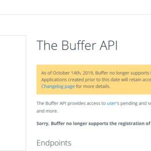 BufferでWordPressをSNS(Twitter/Facebook)に自動投稿するサービスが停止していた件